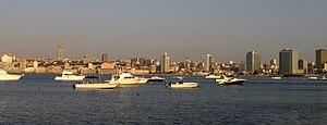 Bay of Luanda (view from Luanda Island), Angola