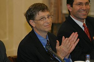 Bill Gates in Poland