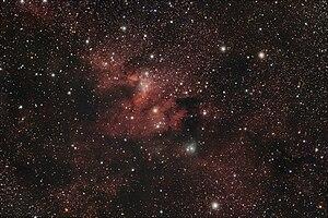 Sh2-155, Cave Nebula