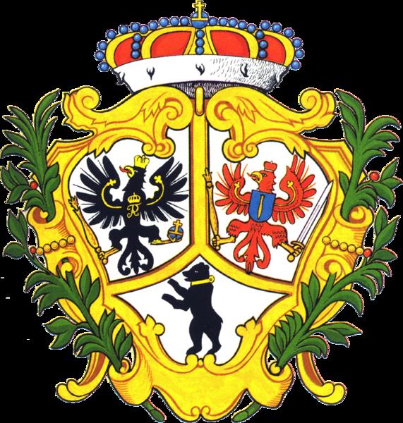 File:Coat of arms Berlin 1709.png