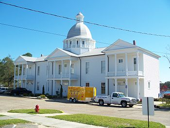 The Chautauqua Hall of Brotherhood in DeFuniak...