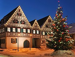 Dreigiebelhaus Weihnachten 2010