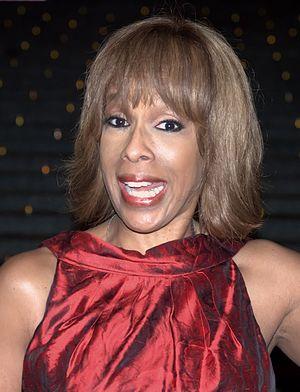 Gayle King at the Vanity Fair kickoff part for...