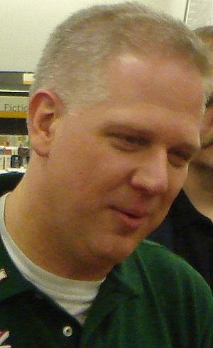Author, radio, and TV personality Glenn Beck a...