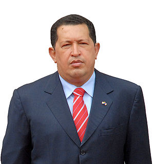 English: Hugo Chávez