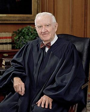 John Paul Stevens, U.S. Supreme Court justice.
