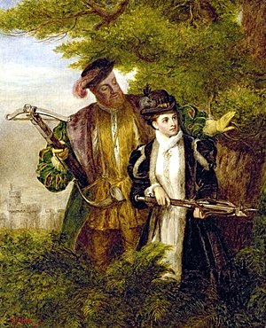 King Henry and Anne Boleyn Deer shooting in Wi...