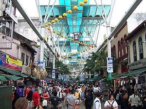 View in downtown Kuala Lumpur, Malaysia