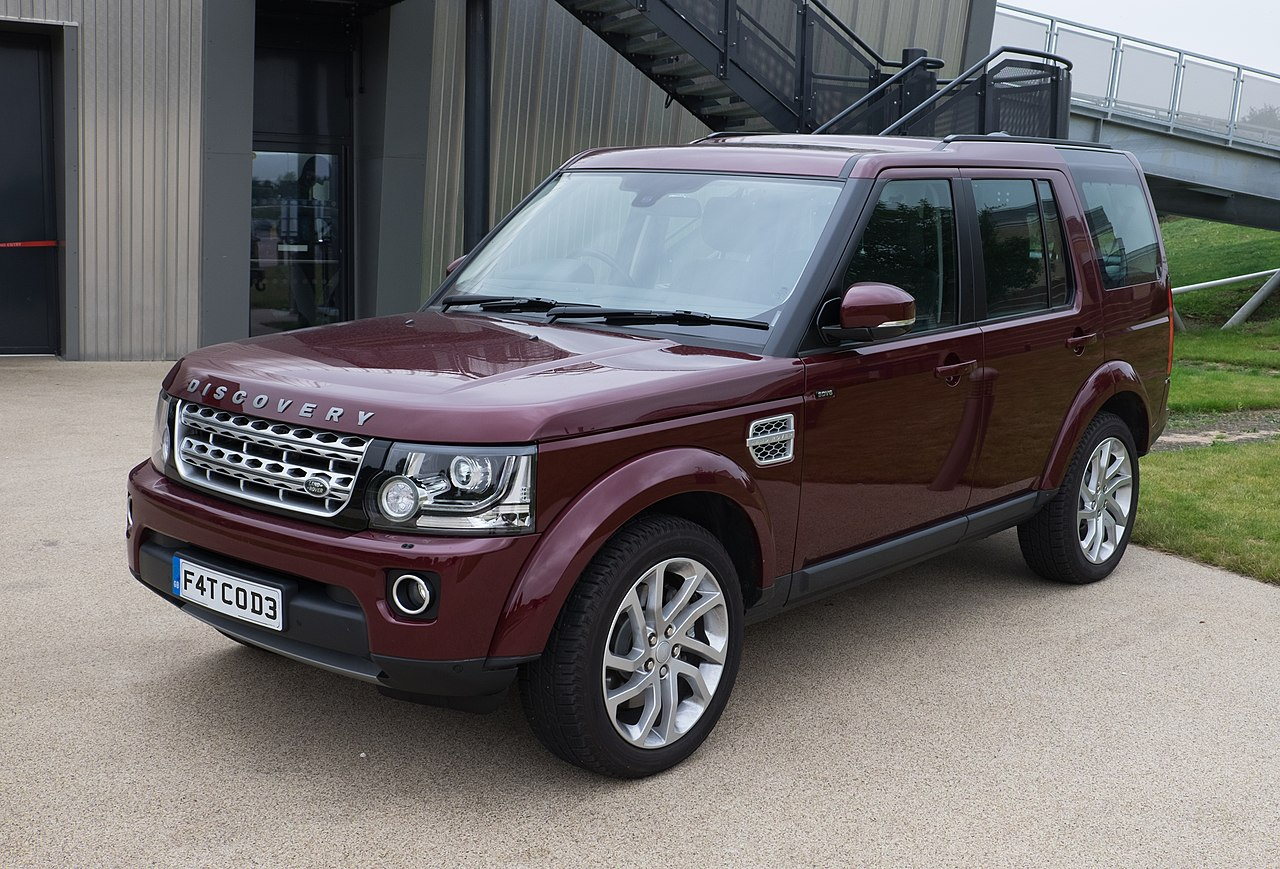 SouborLand Rover Discovery 4 HSE 2016jpg Wikipedie