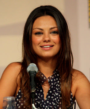 Mila Kunis at the 2009 Comic Con in San Diego.