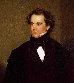 Author Nathaniel Hawthorne had close ties to A...