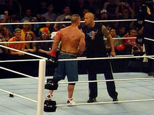 The Rock and John Cena agree to a match at WWE...