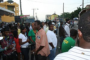 English: Streets of Kingston, Jamaica