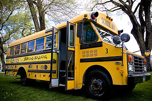 Thomas Built Buses Mighty Mite school bus. Thi...