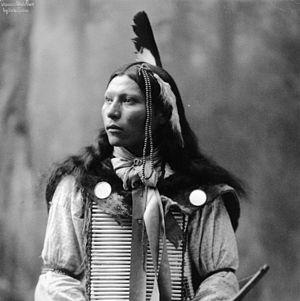English: Thomas White Face Oglala Sioux