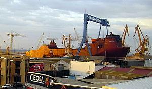 Astilleros de Huelva. Muelle interior. (Huelva...