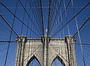 Brooklyn Bridge - detail