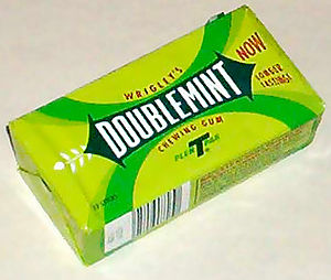 English: Doublemint gum Photo by User:Hephaest...