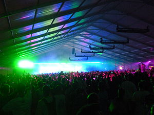 English: Hilltop Arena at Electric Zoo Festiva...