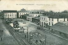 Gare De Clermont Ferrand Wikipdia