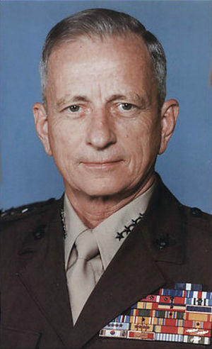 General Robert H. Barrow, USMC. 27th Commandan...