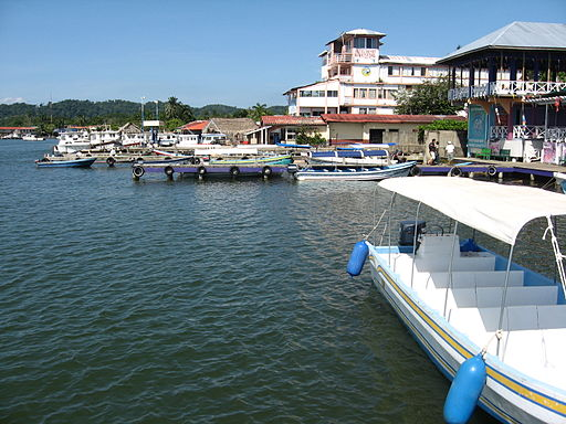 Harbour of Livingston Guatemala