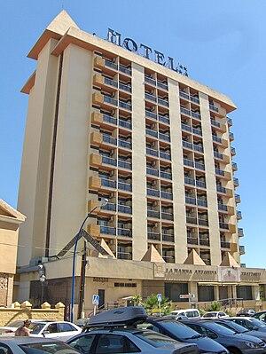 Hotel las Pirámides, Fuengirola.