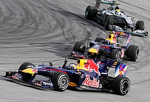 Formula One 2010 Rd.3 Malaysian GP: the podium...
