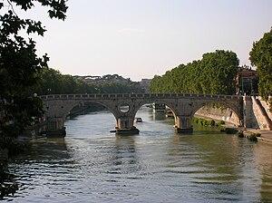 Ponte Sisto in Trastevere, Rome