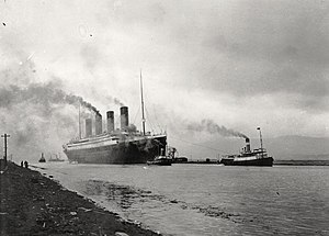 RMS Titanic (April 2, 1912).