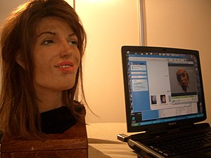 A robot by Human Emulation Robotics.