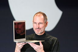 256px-Steve_Jobs_with_MacBook_Air On Loving (And Hating) My New Mac