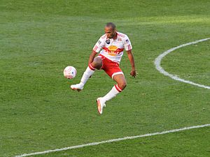 Red Bull New York's own TH14 Thierry Henry, ma...