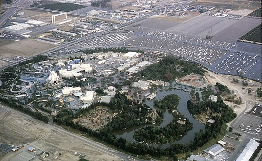 6308-AnaheimDisneyLand-NW to SE View