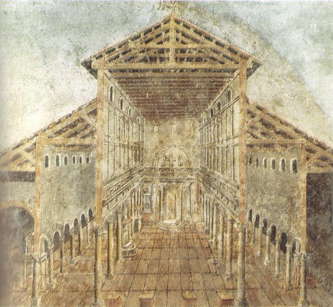 5-cio nawowa bazylika św. Piotra w Rzymie