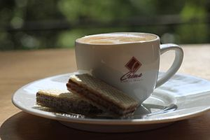 This is a picture of an Antoccino, which is a ...