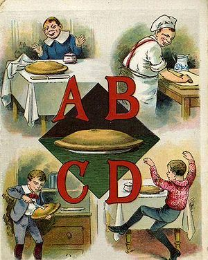 A page from the McLoughlin Brothers' Apple Pie...