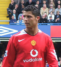 Cristiano Ronaldo; image cropped from :Image:R...