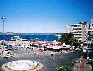 Canakkale harbour