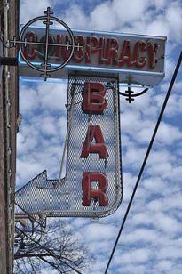Deep Ellum - Conspiracy Bar sign 01