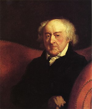 John Adams was opposed to promotion of officer...