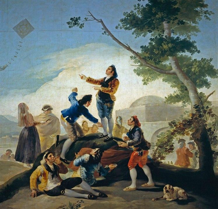 Αποτέλεσμα εικόνας για Francisco Goya: La Cometa 1778
