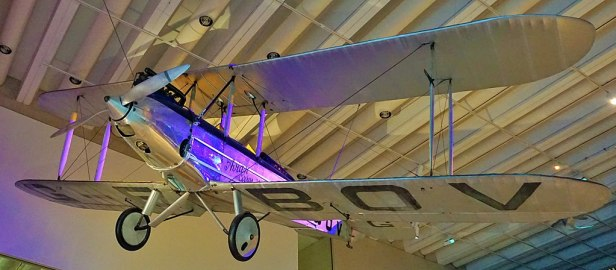 Queensland Museum & Science Centre - Joy of Museums - Avro Avian, G-EBOV