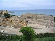 Anfiteatro romano en Tarraco (hoy Tarragona)