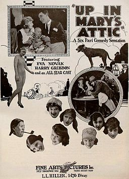 Up in Mary's Attic (1920) - Ad 1