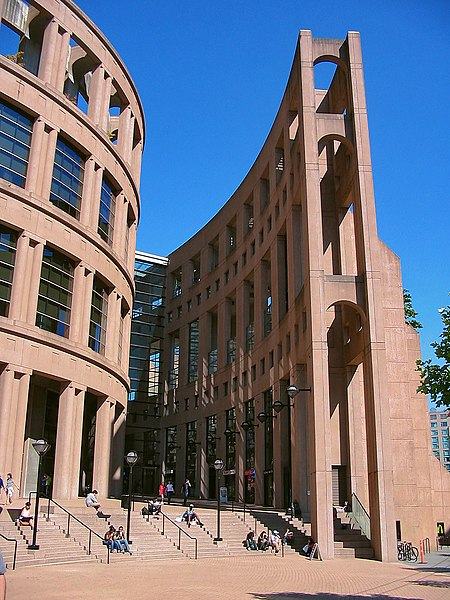"Wikipedia: Vancouver Library - as seen on ""Fringe"""