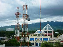 Communication towers in Zamboanga City.