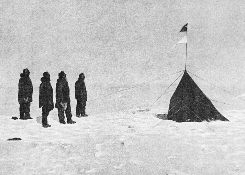 Amundsen Expedition at South Pole