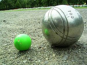 Boule-Kugel, Public Domain: selbst fotografiert