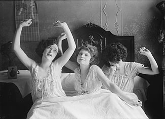 Image result for old fashioned nightgown and cap